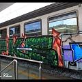 0724五顏六色的塗鴉車廂