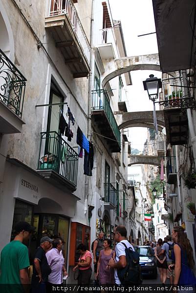 0725 Amalfi招牌風景 主要巷道