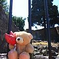 0726小熊遊世界--柵欄後的天空