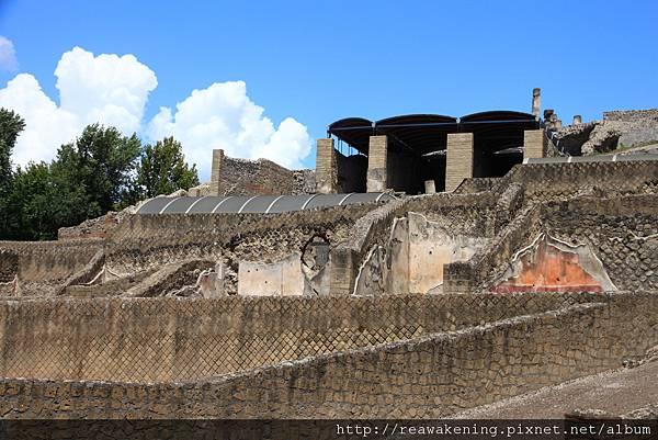 0726剛進大門的古城遺跡