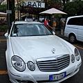 0728 回到Amalfi囉 硬是要拍一下賓士計程車