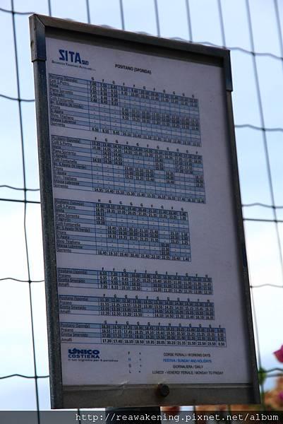 0728 回程的sita bus班表