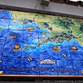 0728 有人店門口貼的 美麗的Pisitano馬賽克磁磚畫