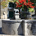 0729 乾涸的噴水池 fontana 我們還為找這個問了半天