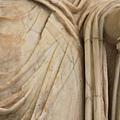 0730 明明是生硬的大理石雕像 衣服的皺摺卻感覺好柔軟