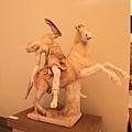0730 這是驢子的全貌 好生動  上面的人也好生動