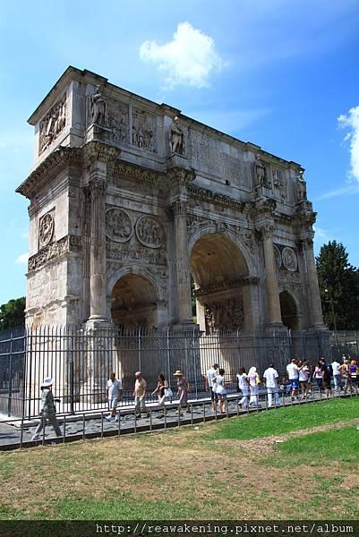 0731 一旁還有君士坦丁大帝凱旋門