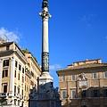 0731 西班牙廣場旁的柱子