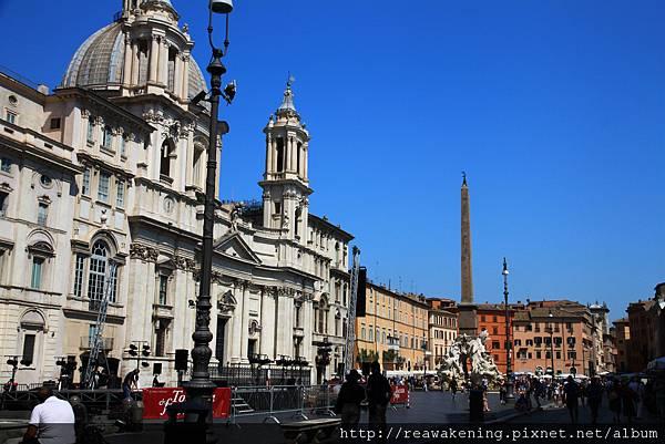 0801 Piazza Navona 全景