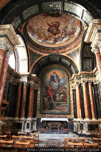 0801 人民聖母教堂內部 一旁的祭室