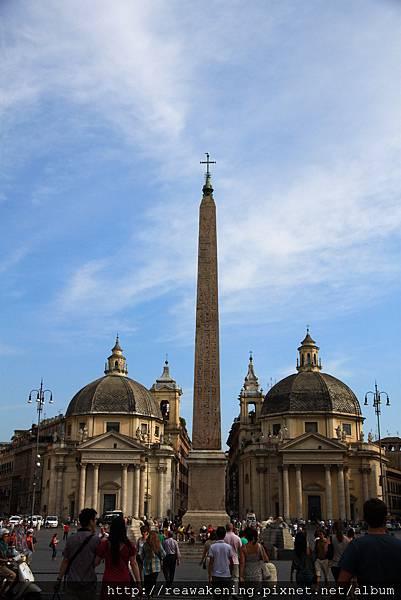0801 人民廣場 Piazza del Popolo