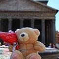 0801 小熊遊世界之 羅馬萬神殿
