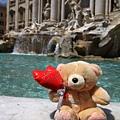 0801 小熊遊世界之羅馬許願池