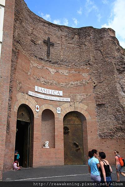 0801 安傑利聖母教堂 Basillica di Santaa Moria degli Angeli