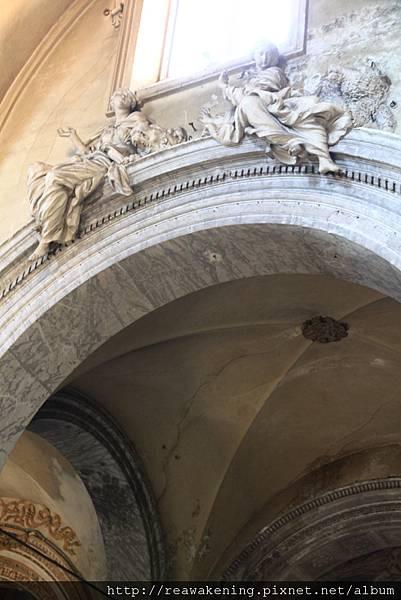 0801 走廊拱頂裝飾