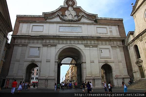 0801 波波洛門 Porta del Popolo
