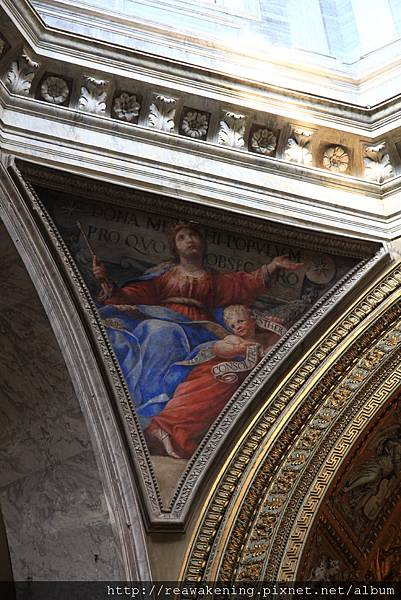 0801 柱子交界處的壁畫1
