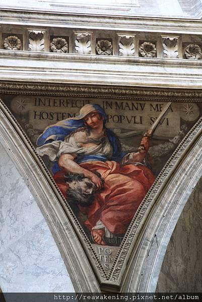 0801 柱子交界處的壁畫2