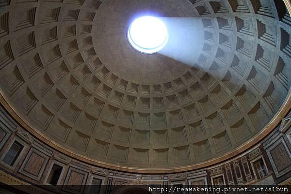 0801 這就是萬神殿最著名的圓頂