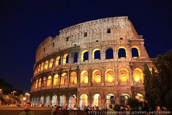 0802 前進  羅馬競技場夜景
