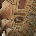 0802 聖天使堡--四周的走廊屋頂也有漂亮的裝飾