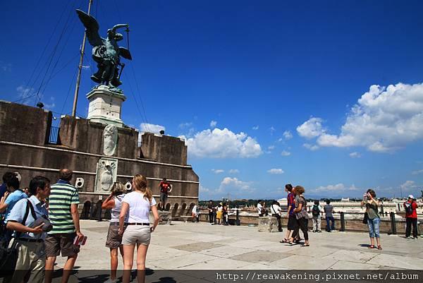 0802 聖天使堡最頂端的廣場
