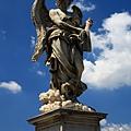 0802 聖天使橋上的天使雕像 每個都不同1