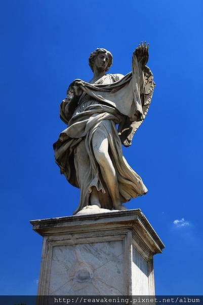 0802 聖天使橋上的天使雕像 每個都不同2