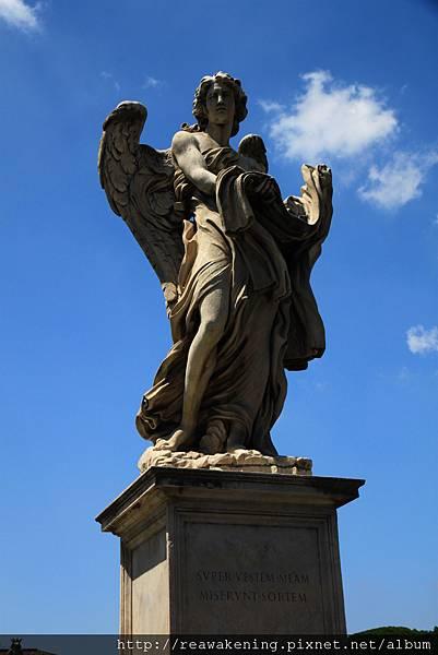 0802 聖天使橋上的天使雕像 每個都不同4