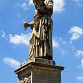 0802 聖天使橋最前端兩座雕像--彼得