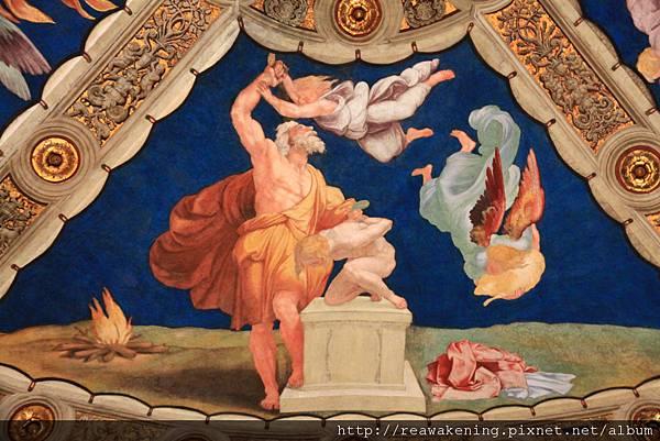 0803 Eliodoro 頂棚畫作 亞伯拉罕獻以撒