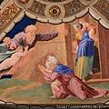 0803 Eliodoro 頂棚畫作 神與挪亞立約