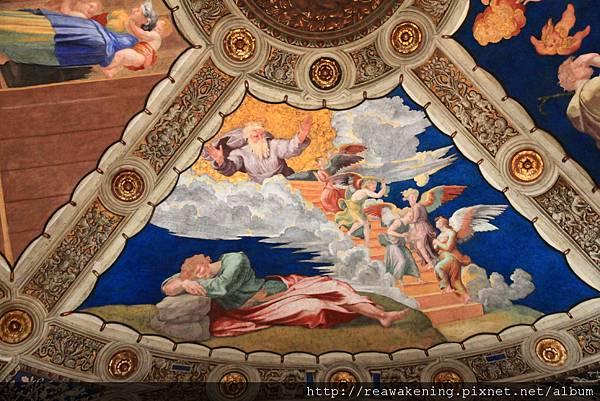 0803 Eliodoro 頂棚畫作 雅各夢見天梯