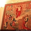 0803 大型壁毯--耶穌的復活與升天