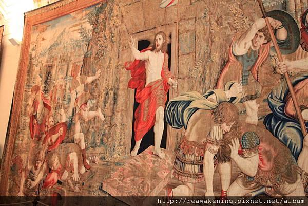 0803 大型壁毯--耶穌復活