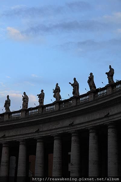 0803 再次前往聖彼得廣場  等待日落