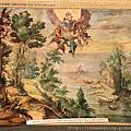 0803 地圖廳頂上的壁畫相當精緻3