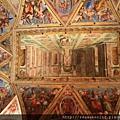 0803 君士坦丁廳  頂棚畫作