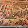 0803 君士坦丁廳 前後牆面 教宗接受加冕