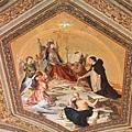 0803 前往西斯汀禮拜堂途中--屋頂上的壁畫