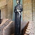 0803 很有埃及味的雕像