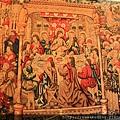 0803 耶穌與十二門徒最後的晚餐--掛毯