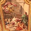 0803 真的是非常立體的油畫 仔細看天使的手和衣服 彷彿都要飛出畫中