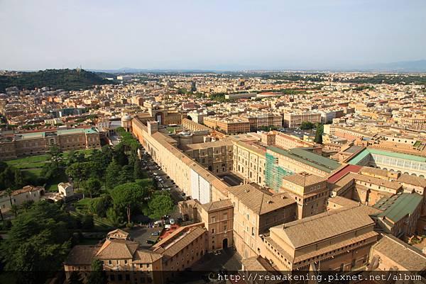0803 從這裡幾乎可以俯瞰梵蒂岡全部的國土