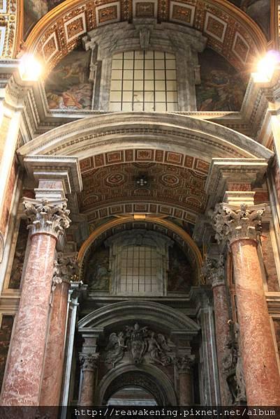 0803 聖彼得大教堂 世界上最大的教堂 何其有幸能親身站在這裡