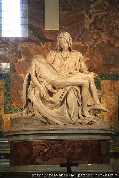 0803 聖彼得大教堂 米開朗基羅聖殤像