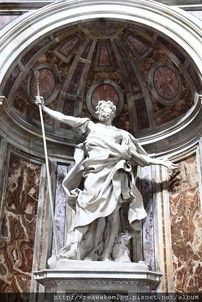 0803 聖彼得大教堂 應該是摩西的雕像