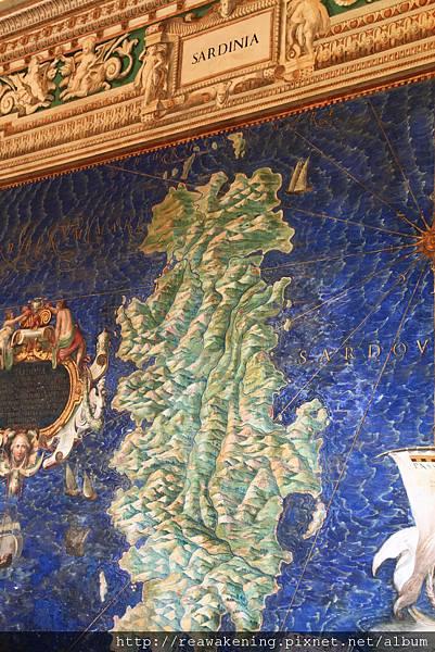 0803 薩丁尼亞島--好不容易看到認識的地名