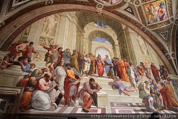 0803 簽署廳 最負盛名的雅典學院