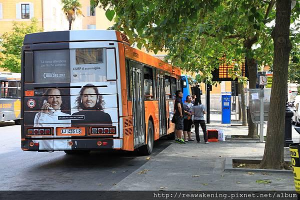 0804 抵達Siena 命運的公車站  遇上旅程中難忘的曲折經歷